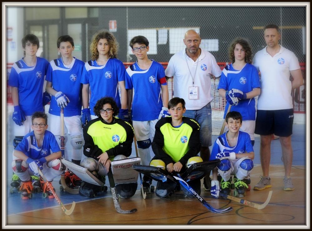 U15 Azzurra H. Novara 2017-18 a Follonica